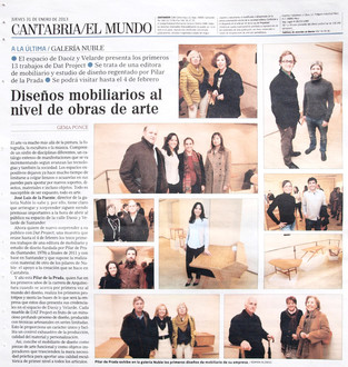 Pilar de Prada DATproject en EL MUNDO